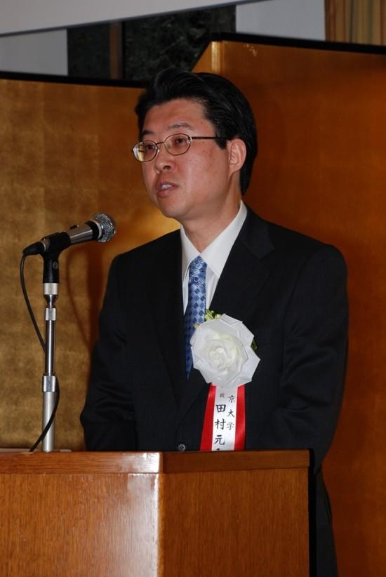 田村先生2・ご挨拶